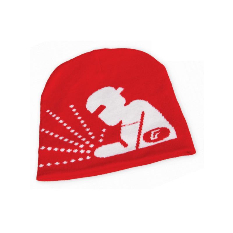 Zimní reklamní čepice ve vlastním designu - Fronius