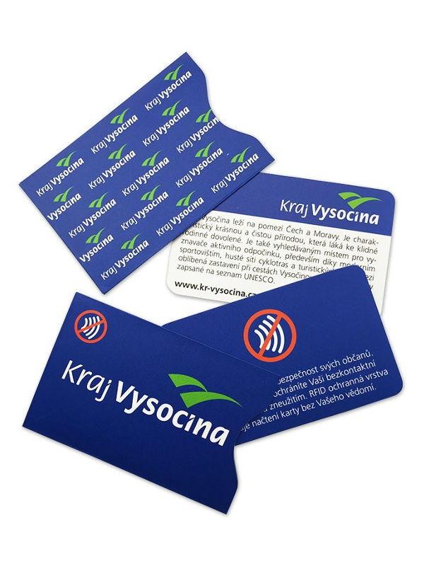 Reklamní bezpečnostní obaly RFID