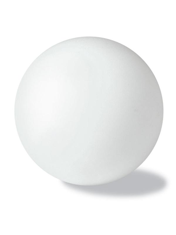 Reklamní Antistresový míček DESCANSO bílá