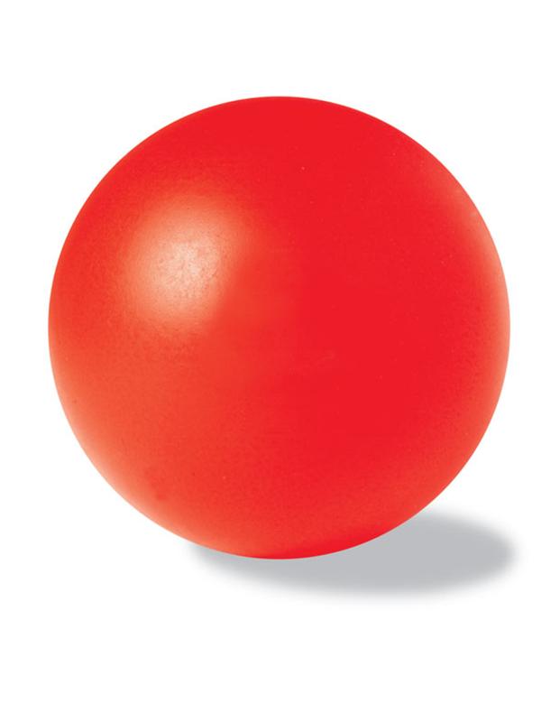 Reklamní Antistresový míček DESCANSO červená