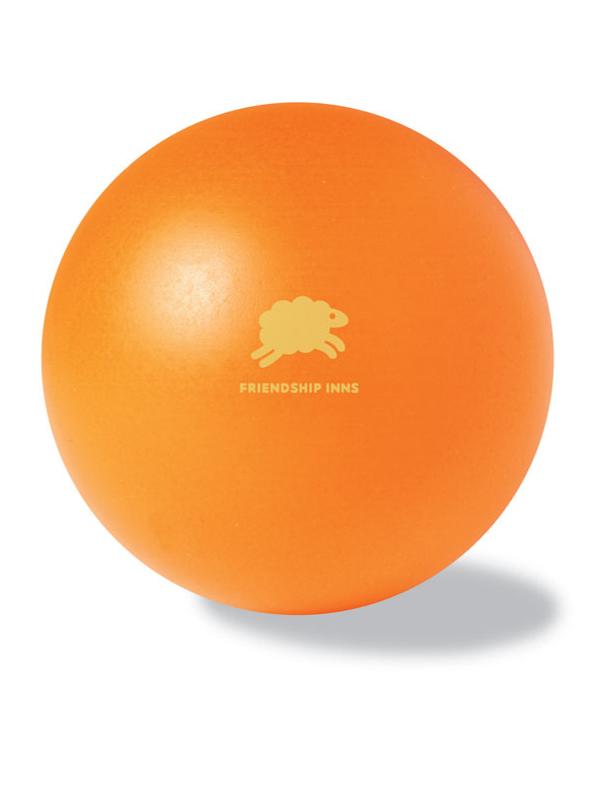 Reklamní Antistresový míček DESCANSO oranžová