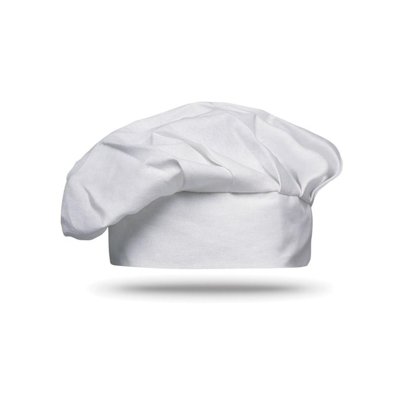 Reklamní Kuchařská čepice CHEF bílá