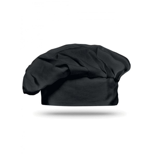 Reklamní Kuchařská čepice CHEF černá