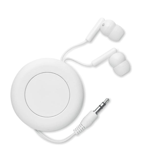 Reklamní sluchátka SONIDO bílá