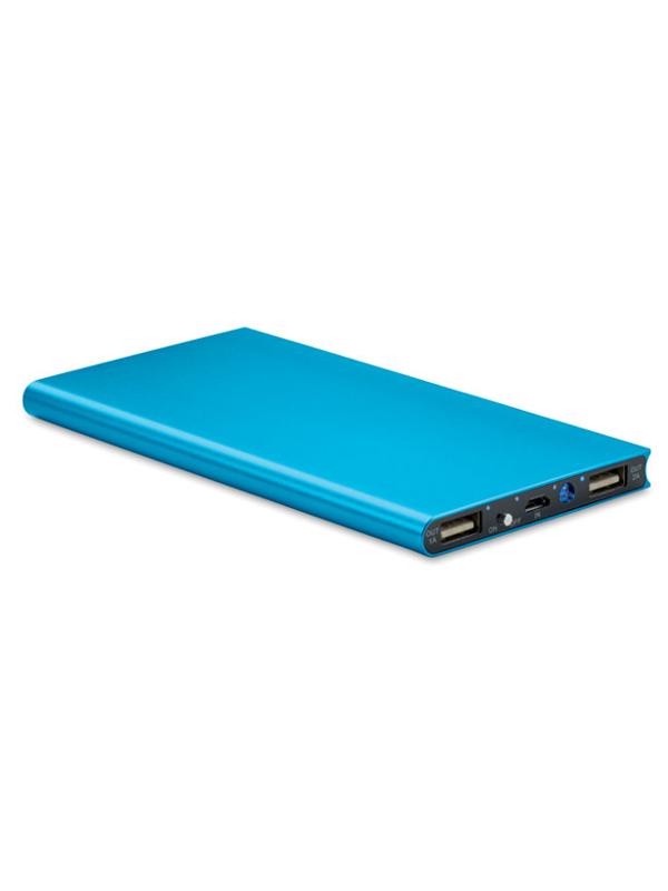 Reklamní Powerbanka POWERFLAT8 modrá