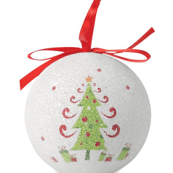 Reklamní Vánoční koule BLANCA 2