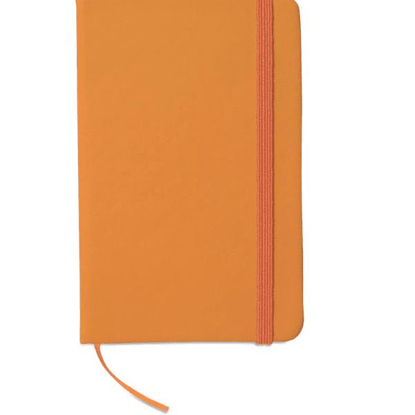 Reklamní zápisník NOTELUX oranžový 1
