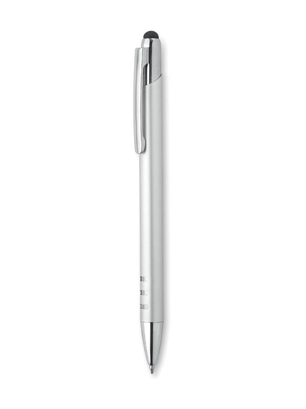 Reklamní Dotykové kuličkové pero URRBA stříbrná