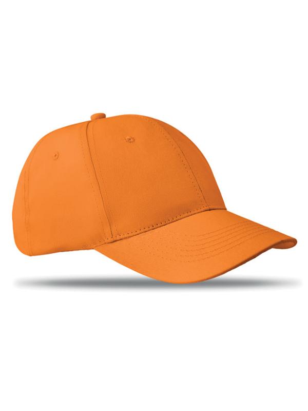 Reklamní Kšiltovka BASIE oranžová