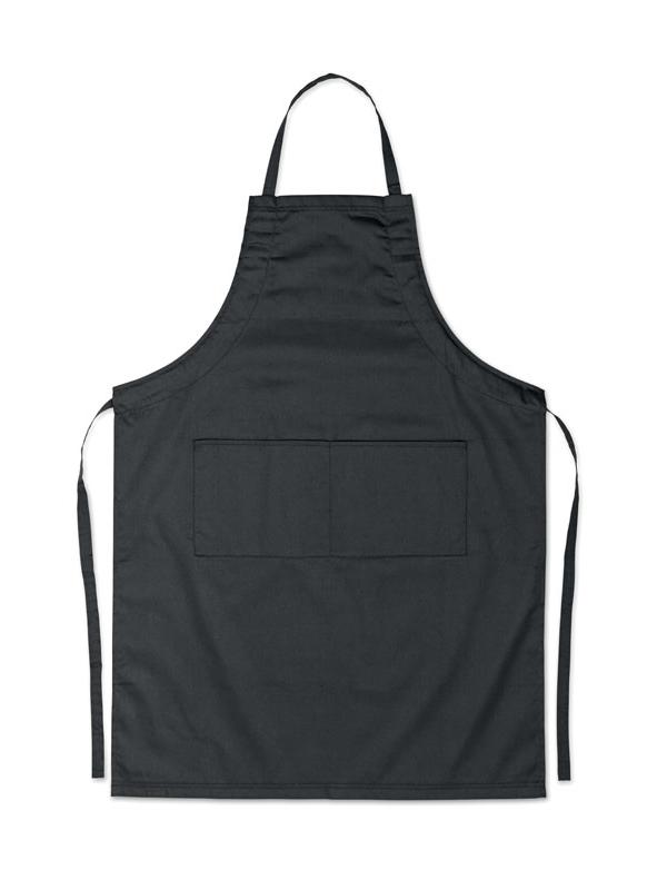 Reklamní Kuchyňská zástěra FITTED KITAB černá