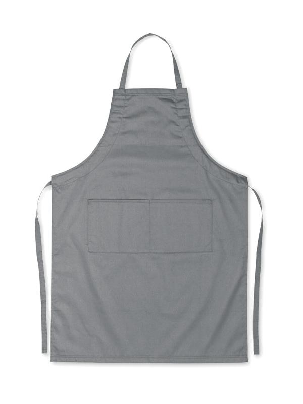 Reklamní Kuchyňská zástěra FITTED KITAB šedá