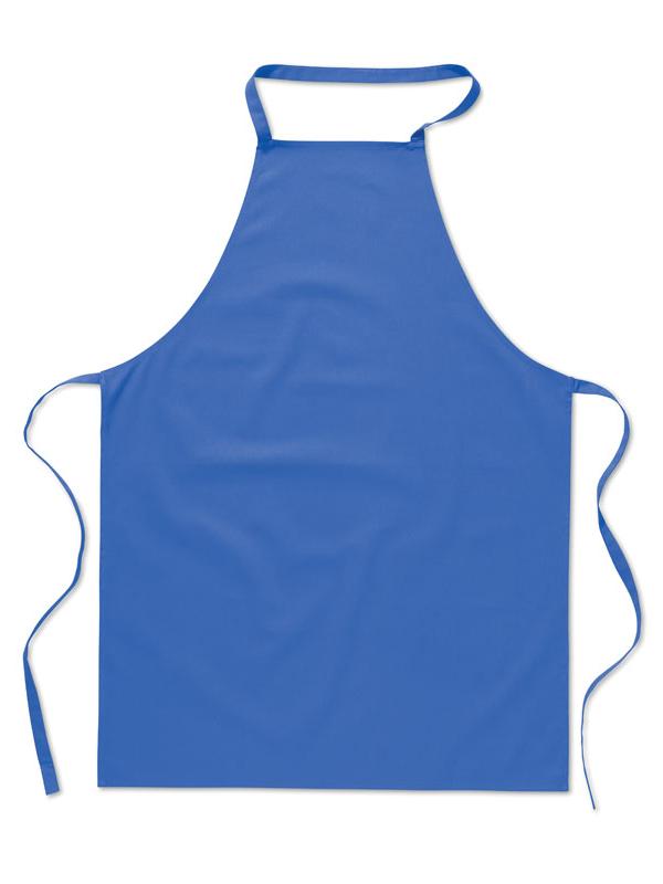 Reklamní Kuchyňská zástěra KITAB královská modrá
