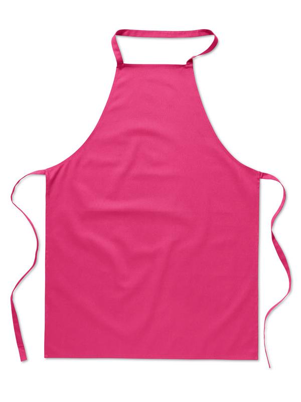 Reklamní Kuchyňská zástěra KITAB růžová