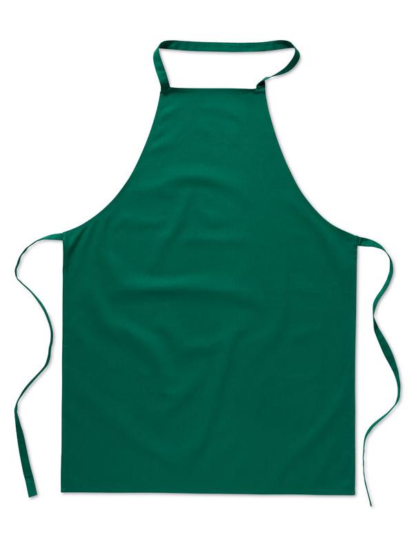 Reklamní Kuchyňská zástěra KITAB zelená