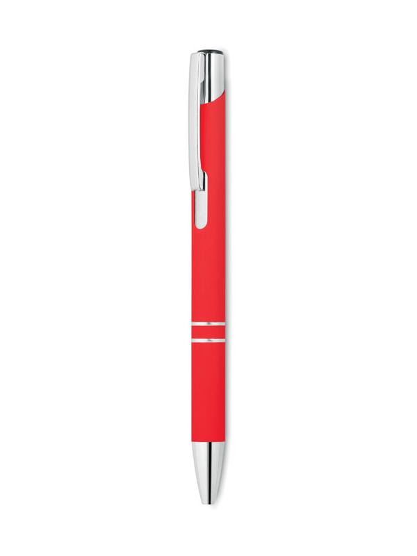 Reklamní Kuličkové pero AOSTA červená