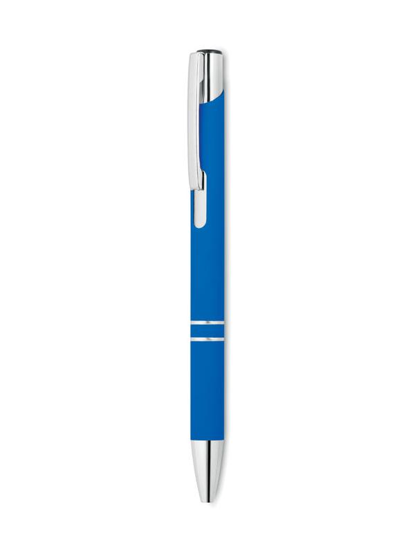 Reklamní Kuličkové pero AOSTA modrá