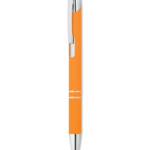 Reklamní Kuličkové pero AOSTA oranžová