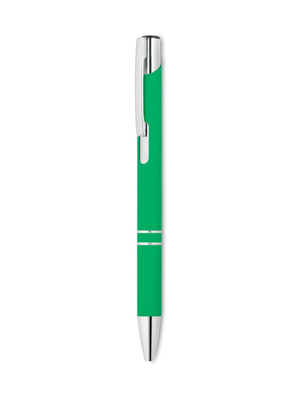Reklamní Kuličkové pero AOSTA zelená