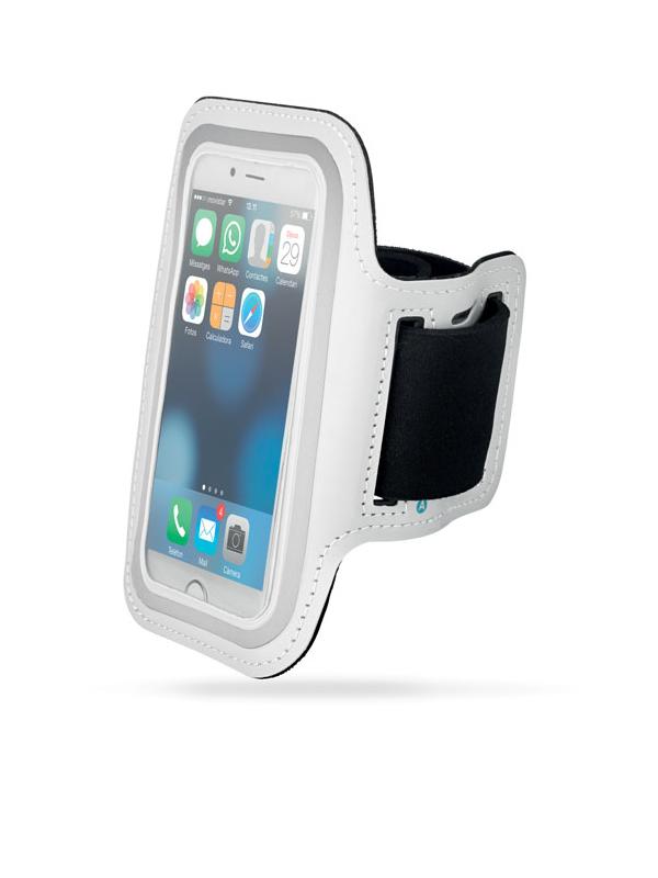 Reklamní Neoprenové pouzdro na ruku ARMPHONE bílá