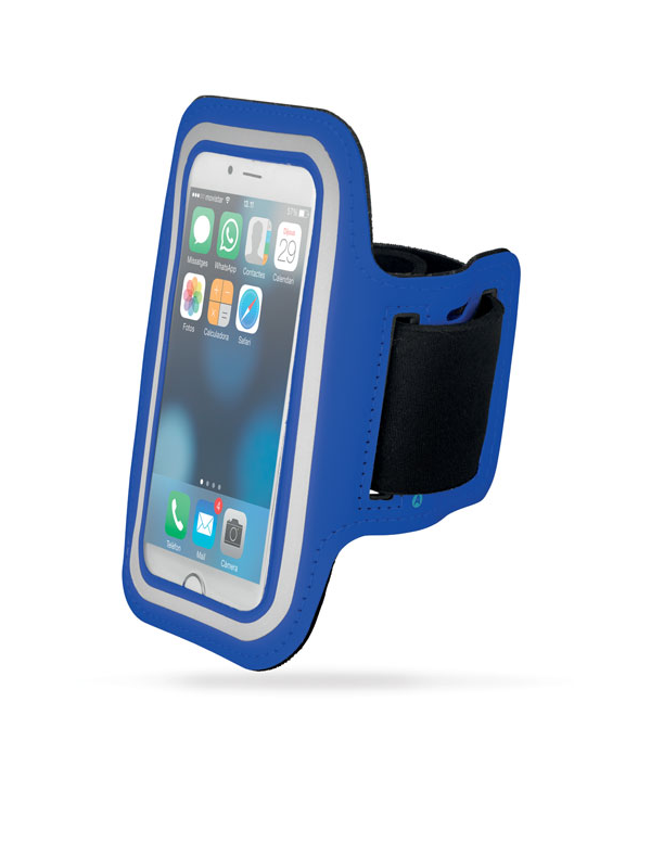 Reklamní Neoprenové pouzdro na ruku ARMPHONE modrá