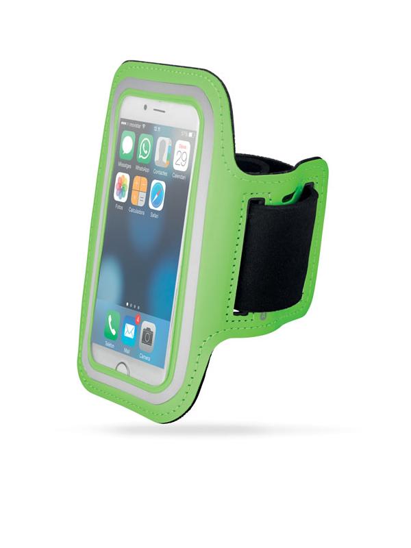 Reklamní Neoprenové pouzdro na ruku ARMPHONE zelená
