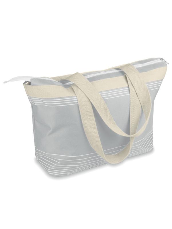 Reklamní Plážová taška PALAWAN šedá