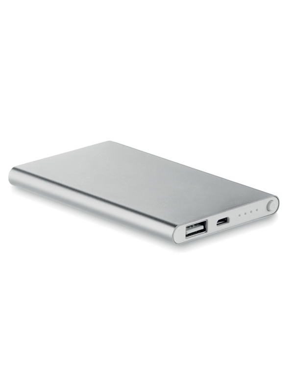 Reklamní Powerbanka POWERFLAT stříbrná