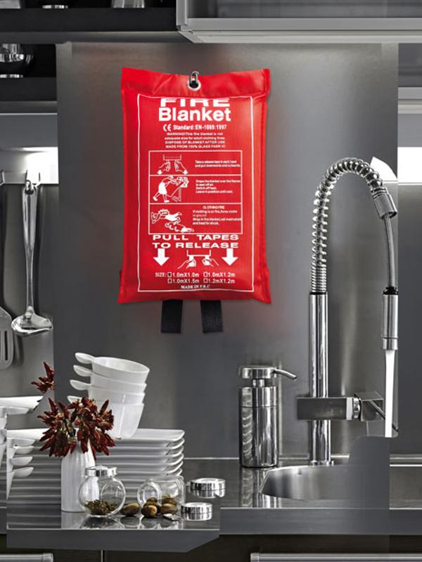 Reklamní Protipožární deka BLAKE 1
