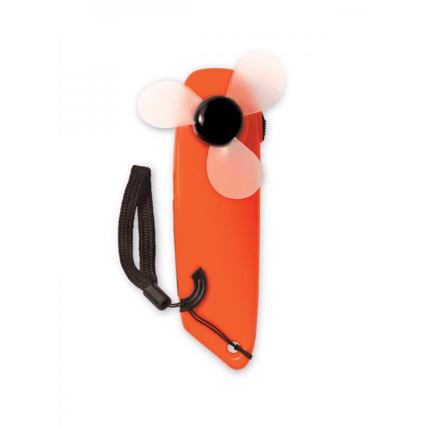 Reklamní Ruční větráček TURNLIGHT oranžová