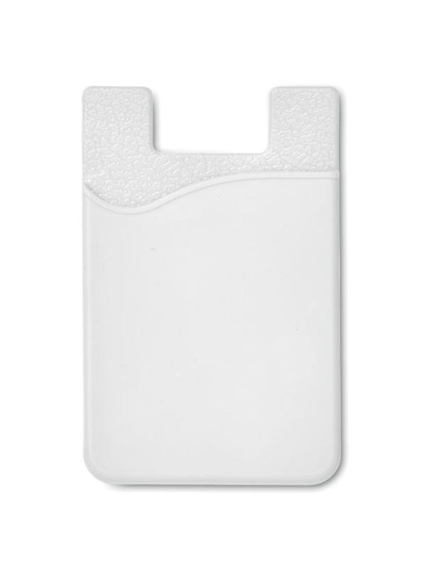 Reklamní Silikonový držák SILICARD bílá