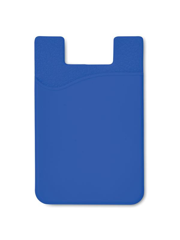 Reklamní Silikonový držák SILICARD modrá