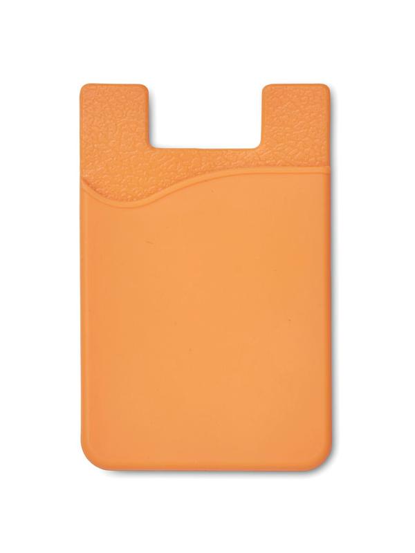 Reklamní Silikonový držák SILICARD oranžová