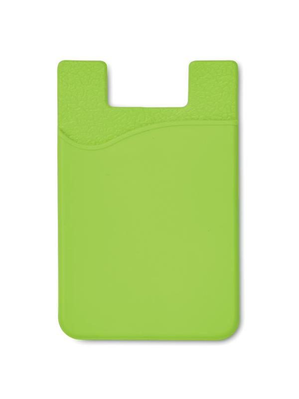 Reklamní Silikonový držák SILICARD zelená