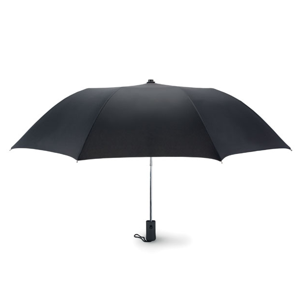 Reklamní Skládací deštník HAARLEM černá