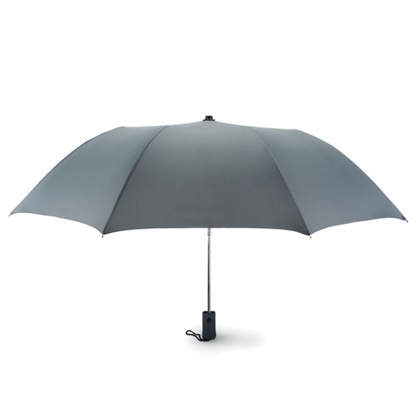 Reklamní Skládací deštník HAARLEM šedá