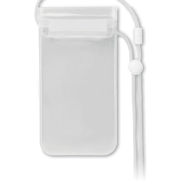 Reklamní Voděodolné pouzdro na telefon COLOURPOUCH bílá