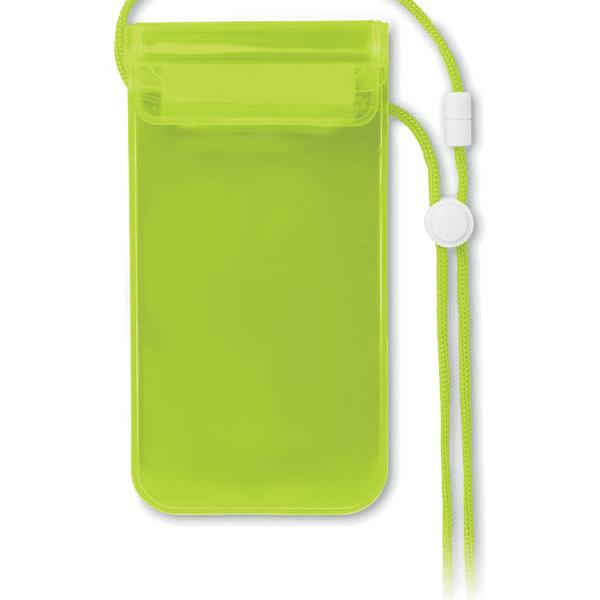 Reklamní Voděodolné pouzdro na telefon COLOURPOUCH zelená