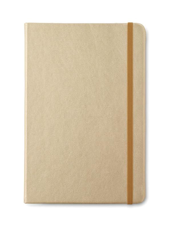Reklamní Zápisník GOLDIES BOOK zlatá
