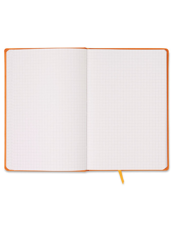 Reklamní blok A5 oranžový čtverečkovaný SQUARED