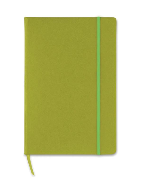 Reklamní blok A5 zelený SQUARED