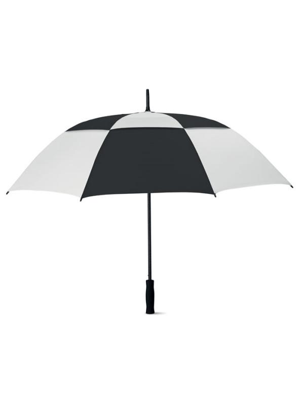 Reklamní deštník ISAY BICOLOR - černý