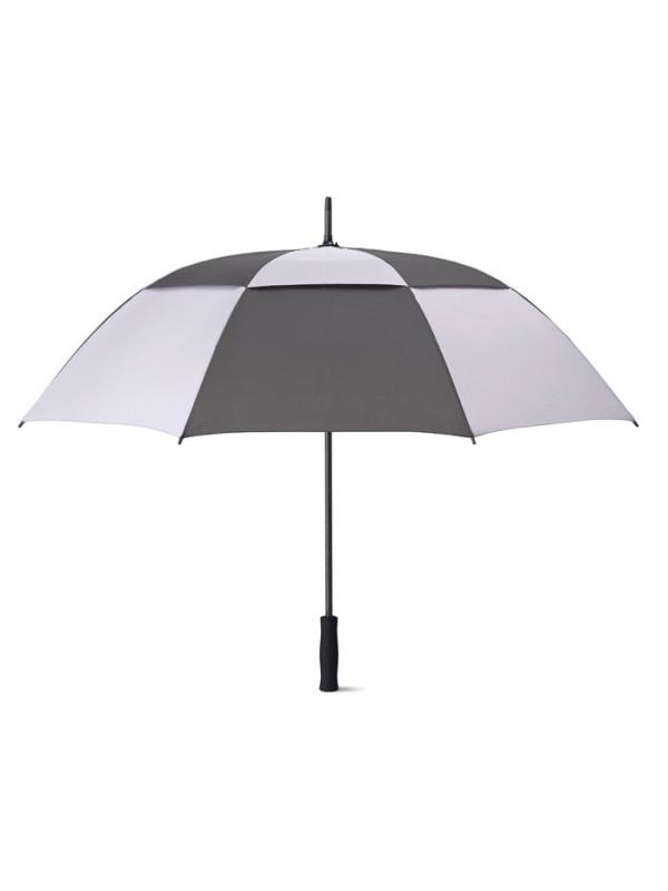 Reklamní deštník ISAY BICOLOR - šedý