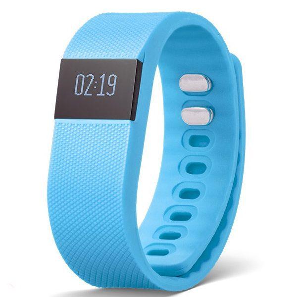 Reklamní fitness náramek - modrý