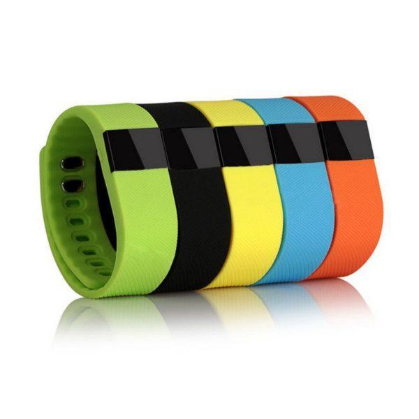 Reklamní fitness náramky - různá barevná provedení