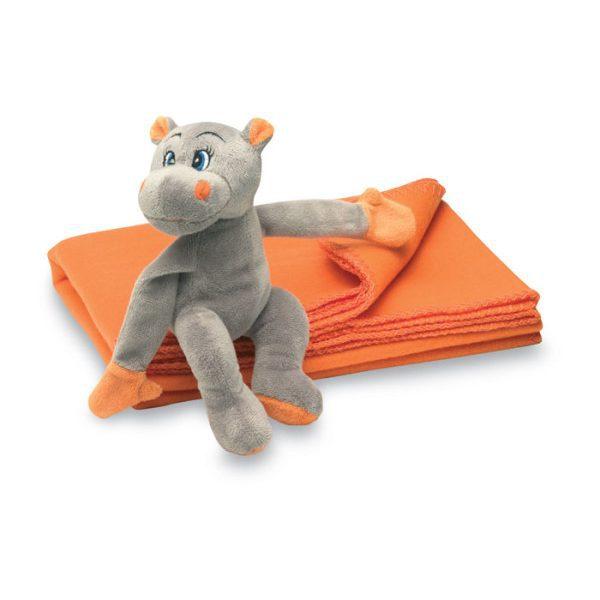 Fleecová deka s plyšákem HYPOTET