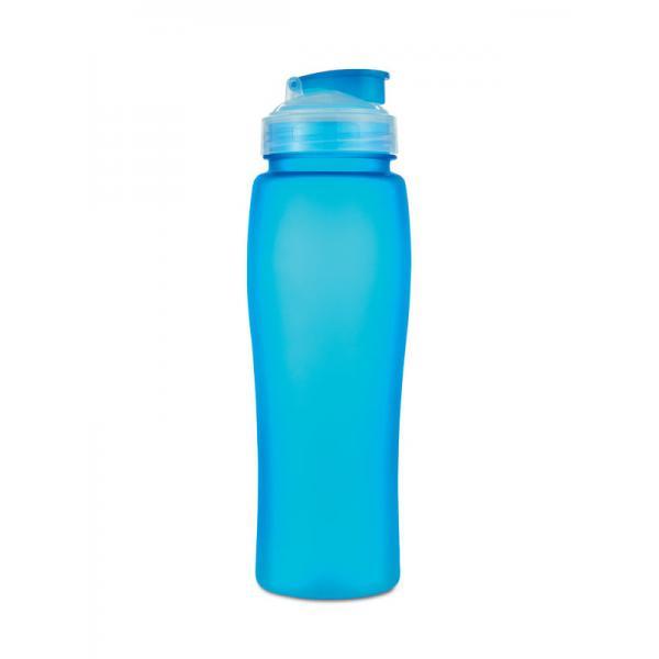 reklamní láhev FLUO modrá 1
