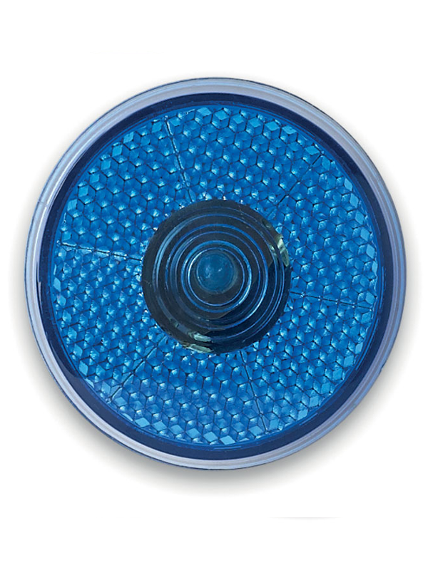Bezpečnostní reklamní LED světlo modré