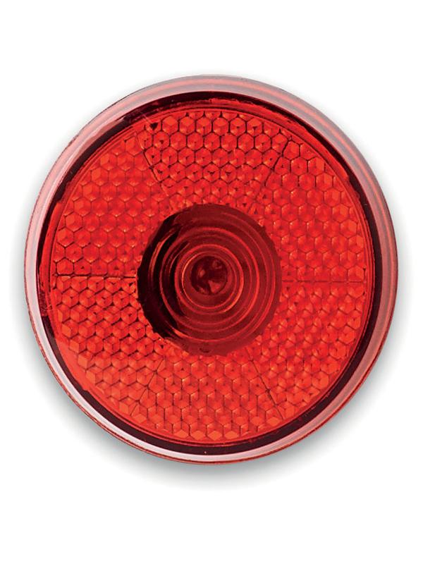 Bezpečnostní reklamní LED světlo červené