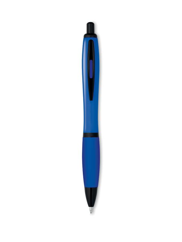 Plastové kuličkové pero RIOSOFT modrá