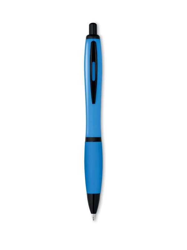 Plastové kuličkové pero RIOSOFT tyrkysová